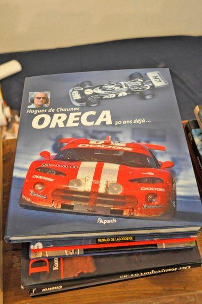 Lot de 7 livres et magazines divers: Nevers-Magny-Cours (Jean Glavany - Renaud de...