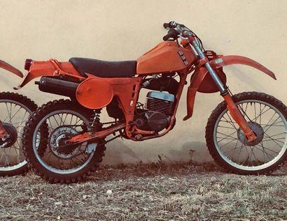 BPS RS125GS - 1977 N° de série: 228 Succession...