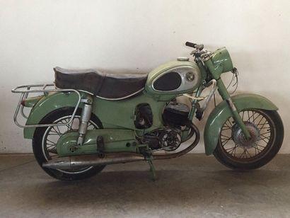 MOTO PUCH 125 cv - 1956 N° de série: 1311752...