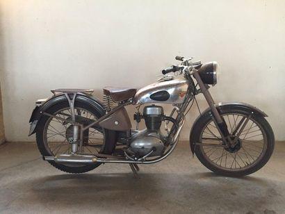 MOTOBECANE Z54 C - 1954 N° de série: 857891...