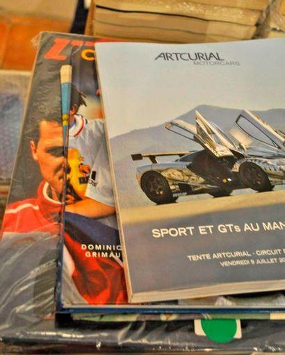 """Lot de 13 ex. de """"L'Equipe Magazine"""" 1981 - 2005 (Senna-Prost, 24h du Mans, 40 ans..."""