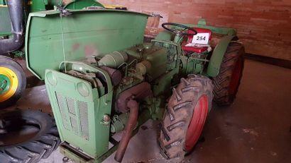 HOLDER Mini tracteur