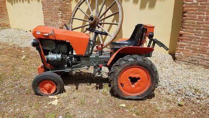 Mini tracteur
