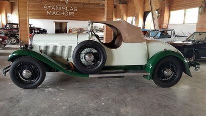 HOTCHKISS AM 80 Spécial Monte Carlo- 1932