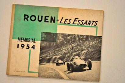 Plaquette de ROUEN-LES-ESSARTS 1953-1954 brochure cartonnée 32 pages