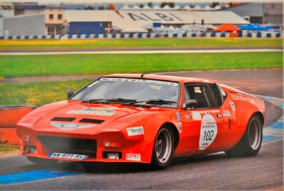 DE TOMASO PANTERA Groupe 4 - 1972