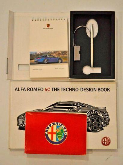 Lot de 2 livres Alfa Romeo: 4C