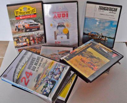 Lot de plusieurs DVD's Rallye de Monte Carlo,...