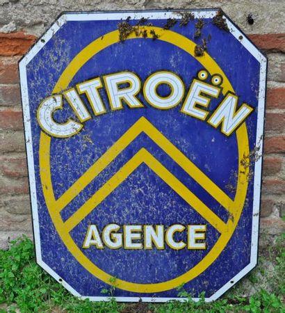 Panneau publicitaire Citroën, 60x45cm