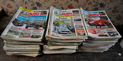 La Vie de l'Auto: environ 220 numéros