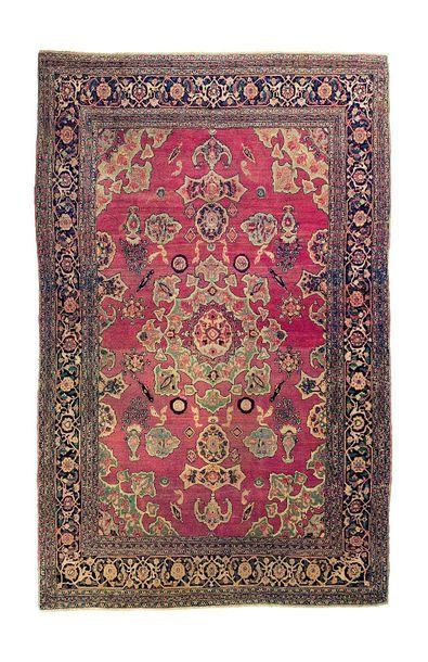 Original et rare tapis DOROCH, (Région de...