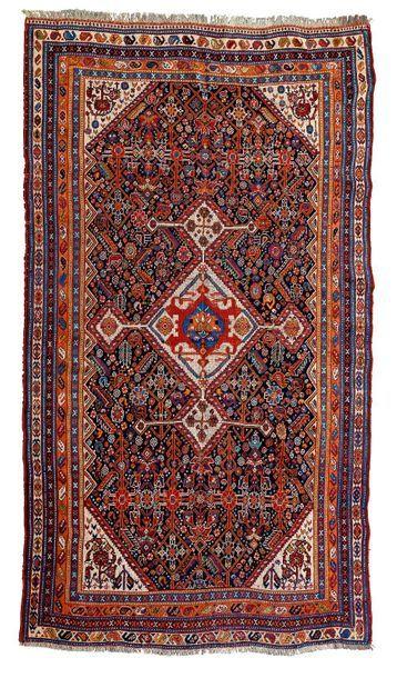 QUASGAI (Perse), fin du 19e siècle Un médaillon...