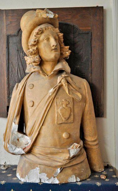 Henri de la Rochejaquelein (1772-1794) head...