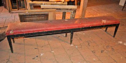 Billiard bench XIX°. Length 2,50m