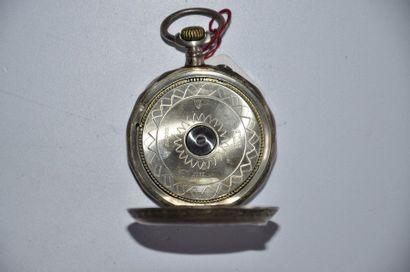 Lot de 3 montres: Montre mouvement de LOISEAU à Paris. Diam. 5,5 cm + Montre en...