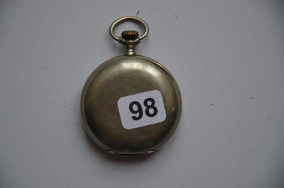 Lot de 3 montres: Régulateur d'ingénieur O. DORIVAL à Cluses Sauxillanges, en argent...