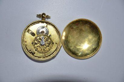 Lot de 3 montres: Montre à gousset Matendero en Cadix, anno 1817 + Montre à gousset...