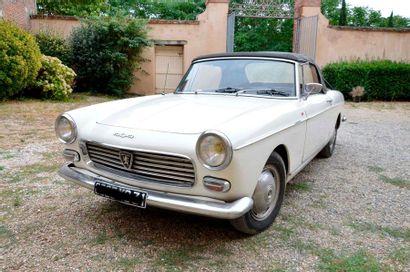 PEUGEOT 404 Cabriolet – 1965