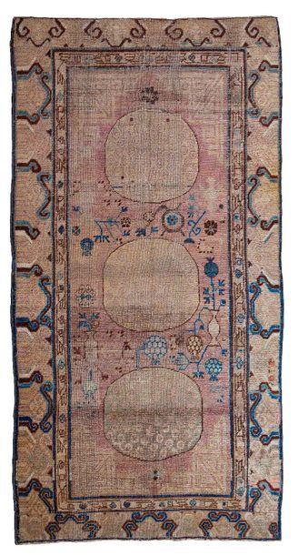 Rare et ancien KHOTAN (Asie centrale), fin...