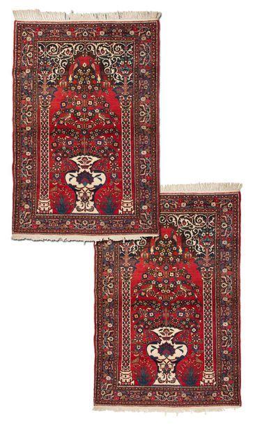 Paire de BIDJAR (Perse), milieu du 20e siècle...