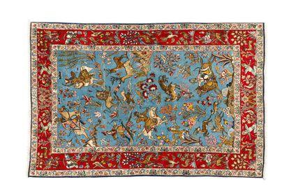 Original et fin GHOUM KORK (Iran ) en laine...