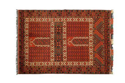 Tapis HATCHLOU ERSARI (Turkmèn, afghan) vers...