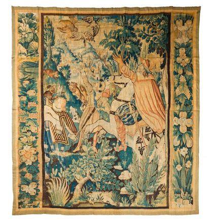 Panneau de tapisserie Audenarde ( Flandres)...