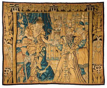 Panneau de tapisserie des ateliers de la...