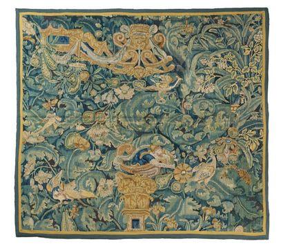 Fragment de tapisserie d'Audenarde de la...