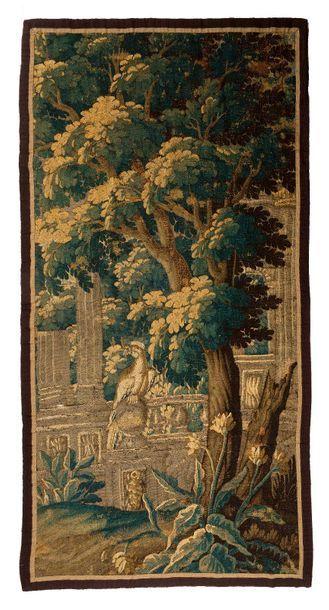 Panneau de tapisserie d'Aubusson.détourée.(France)...