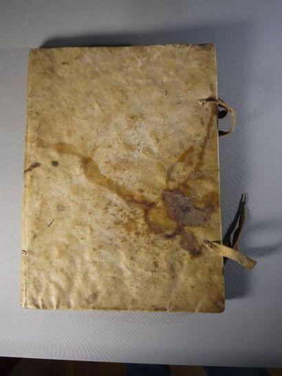 Manuscript, parchment binding - Sermons of...