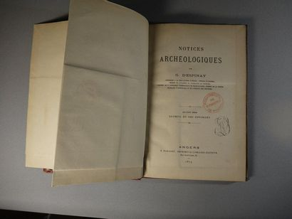 Notices Archéologiques by G. D'Espinay, Counsellor...