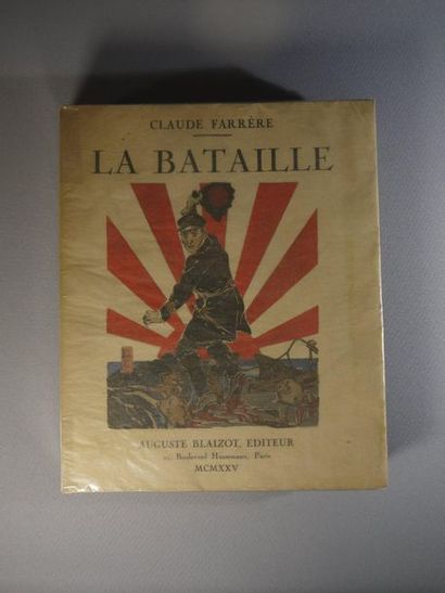 La Bataille by Claude Farrère - Copy on Velin...