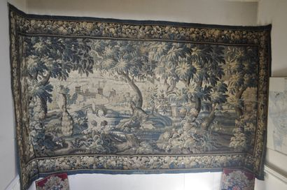 AUBUSSON  Tapestry from the Royal Manufacturers...