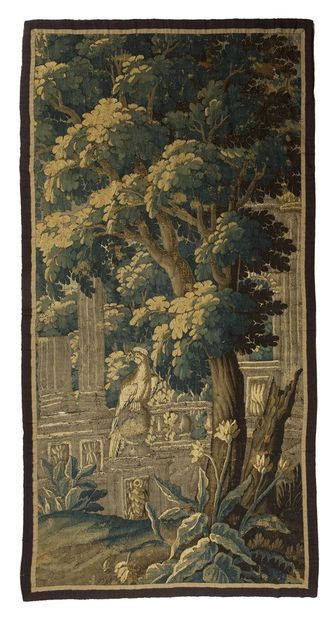 Aubusson Tapestry in wool and silk, 18th...