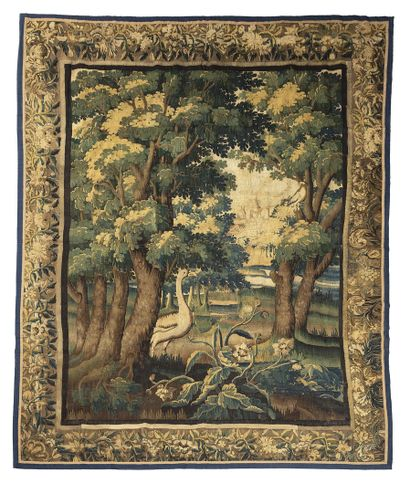 AUBUSSON  Tapestry of AUBUSSON (France)....