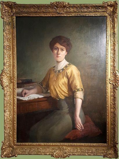 Raymond WINTZ 1884 - 1956. Portrait of an...