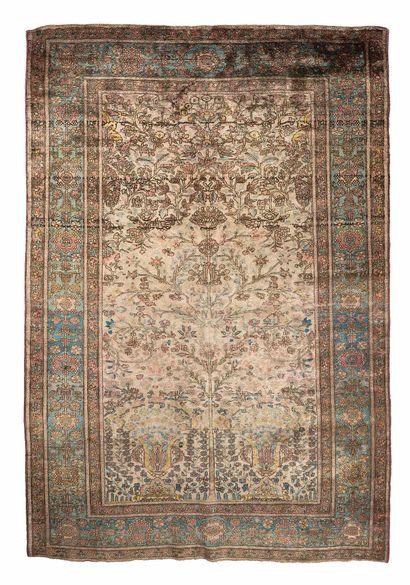 KACHAN in silk (Persia), late 19th century....
