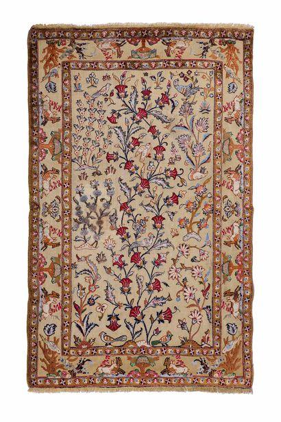 Very original and fine KACHAN SOOF in silk...
