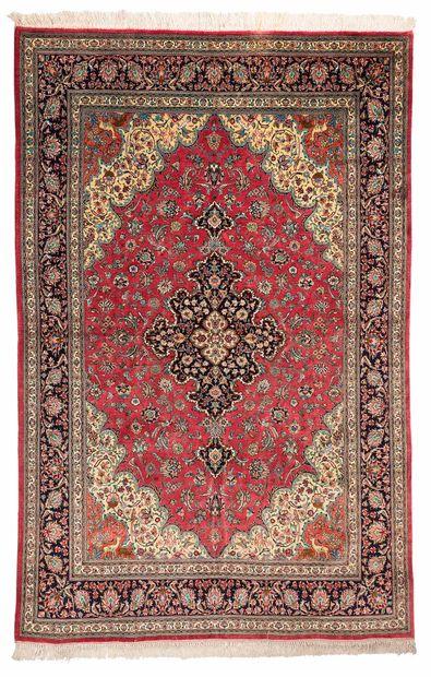 Silk GHOUM (Iran), Shah's time, circa 1980....
