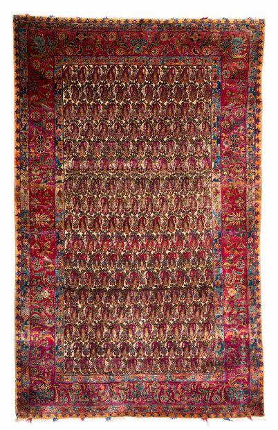 KACHAN in silk (Persia), late 19th century,...