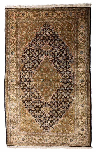 Fine silk GHOUM (Iran), Shah's time, circa...