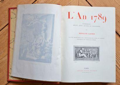 L'an 1789 par Hippolyte Gautier avec 650...