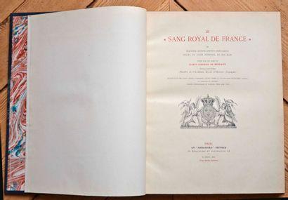 Le sang royal de France par le Comte Georges...