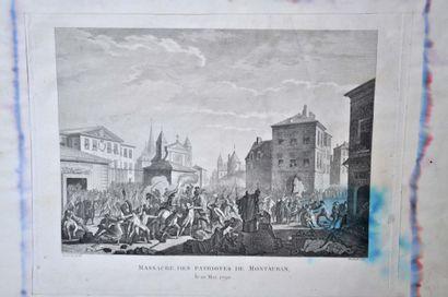 PRIEUR (D'après) Montauban, massacre des...