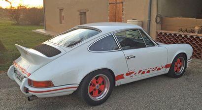 PORSCHE CARRERA RS Recréation – 1979 La Carrera RS sortie en 1972 est certainement...
