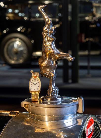 MIDO pour BUGATTI Montre personnelle d'Ettore Bugatti / calandre en or jaune sur...