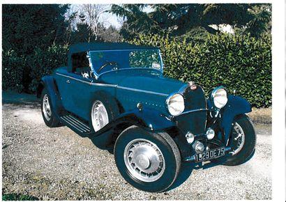 BUGATTI 49 Cabriolet – 1930 - LOT RETIRE DE LA VENTE!