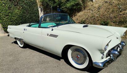 FORD THUNDERBIRD V8 BVA cabriolet - 1955
