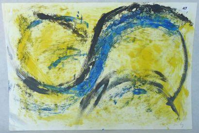 Juan RUIZ, élève de SCHNEIDER. 4 compositions,...